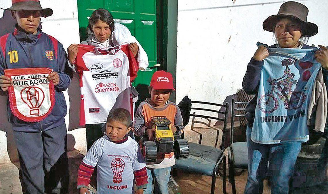 dEn 2005 iniciaron las acciones solidarias en el Norte del país.