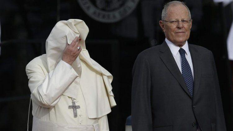El Papa Francisco ya está en Perú