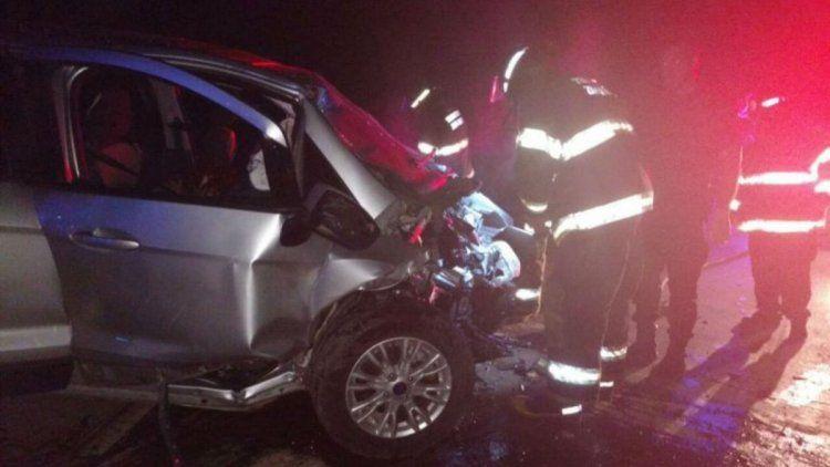 Trágico triple choque en Santa Fe: cuatro muertos