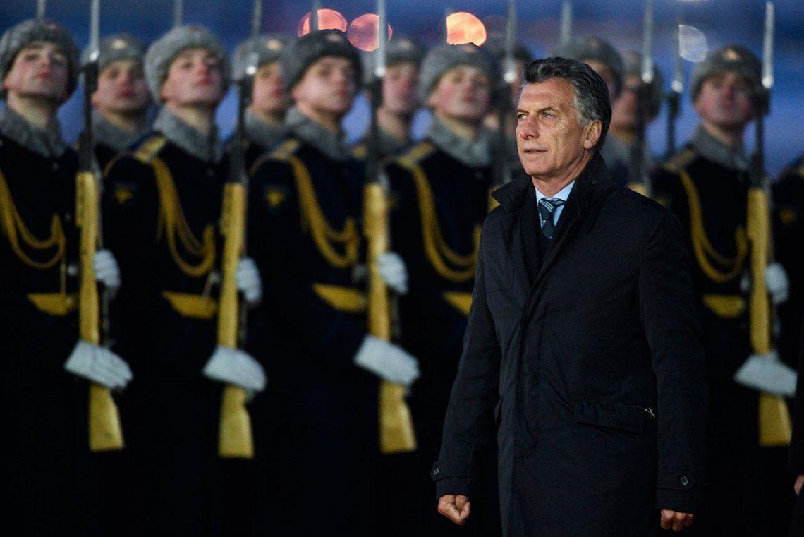 Macri modificó su agenda y está prácticamente afuera del Mundial de Rusia