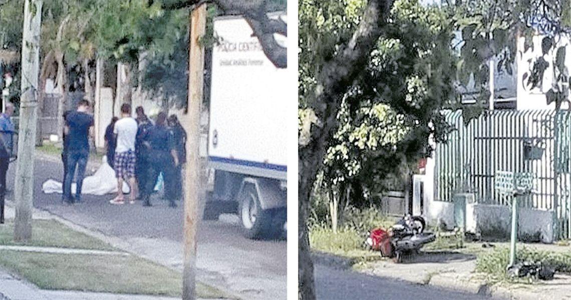 Asesinan a un hombre que se resistió al robo de su moto