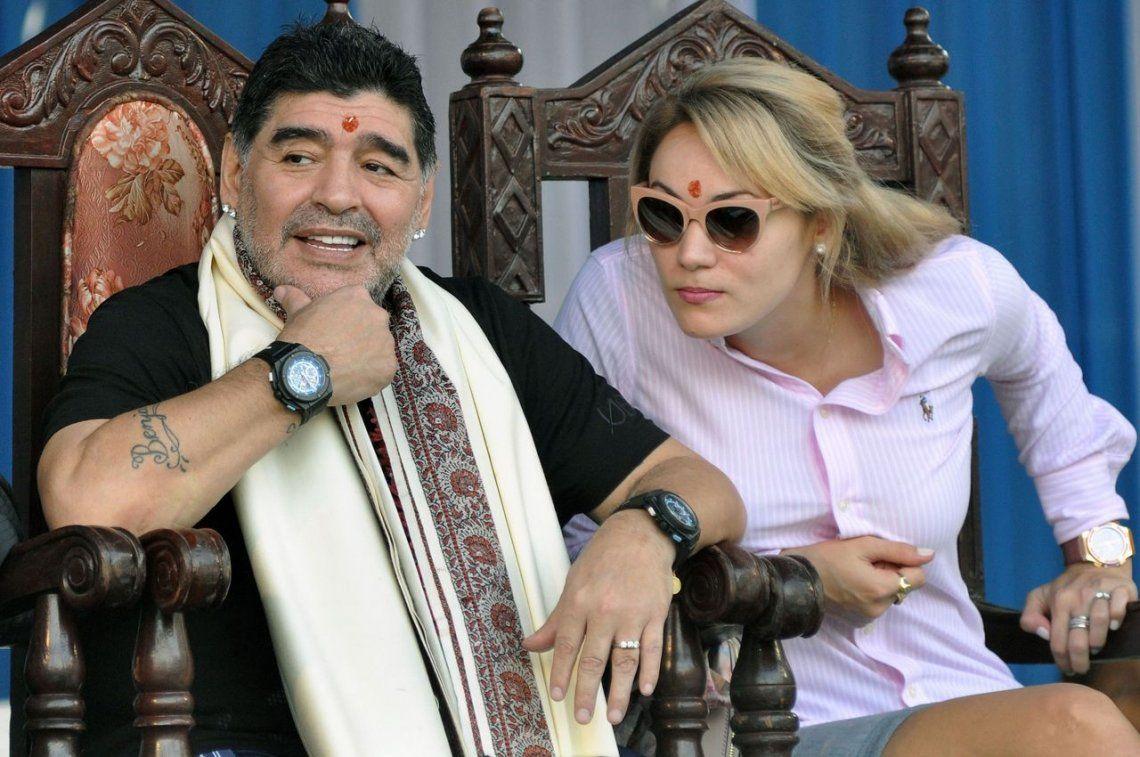 Rocío Oliva reveló cómo era la intimidad con Diego Maradona en Dubai