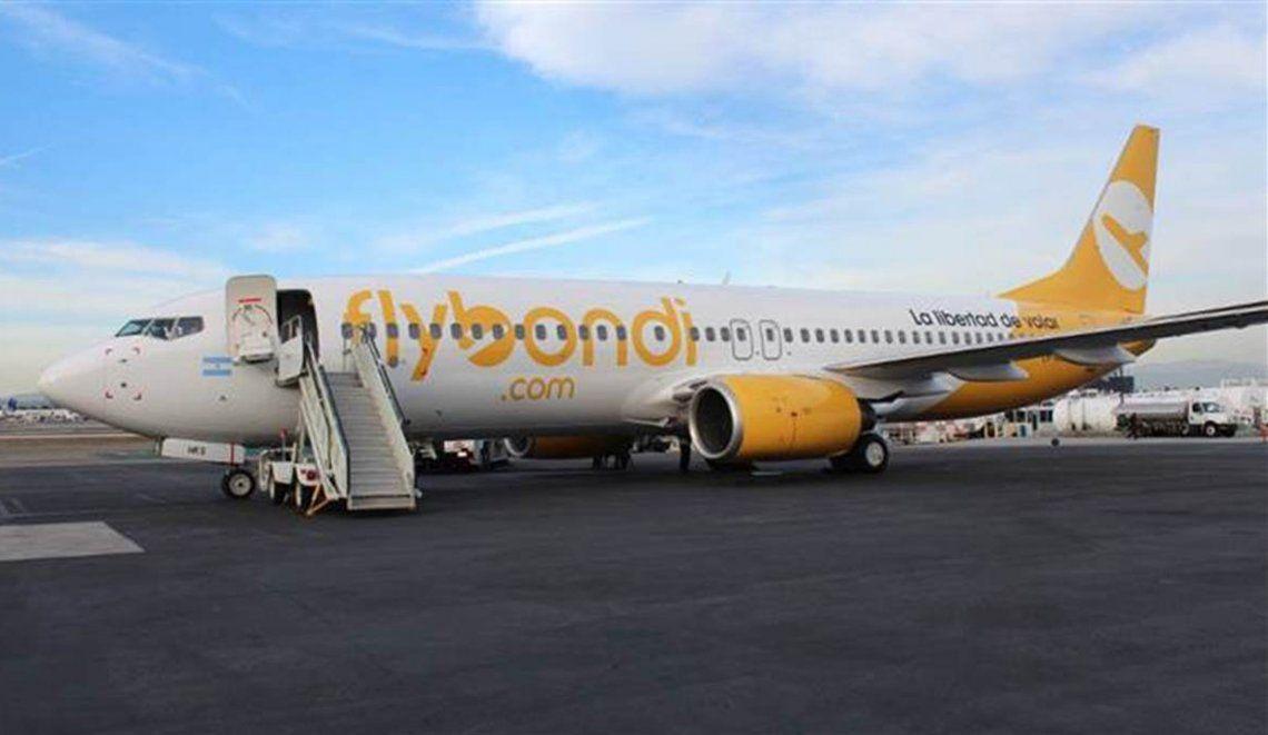 Pidieron la suspensión de Flybondi y del aeropuerto de El Palomar