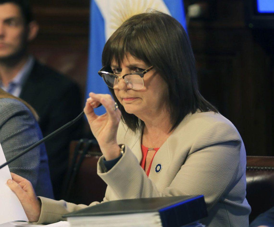 Patricia Bullrich a Camioneros: No vamos a permitir una Argentina bloqueada
