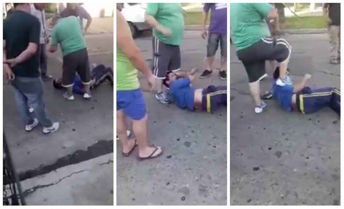 Avellaneda: vecinos atrapan a delincuente y lo linchan