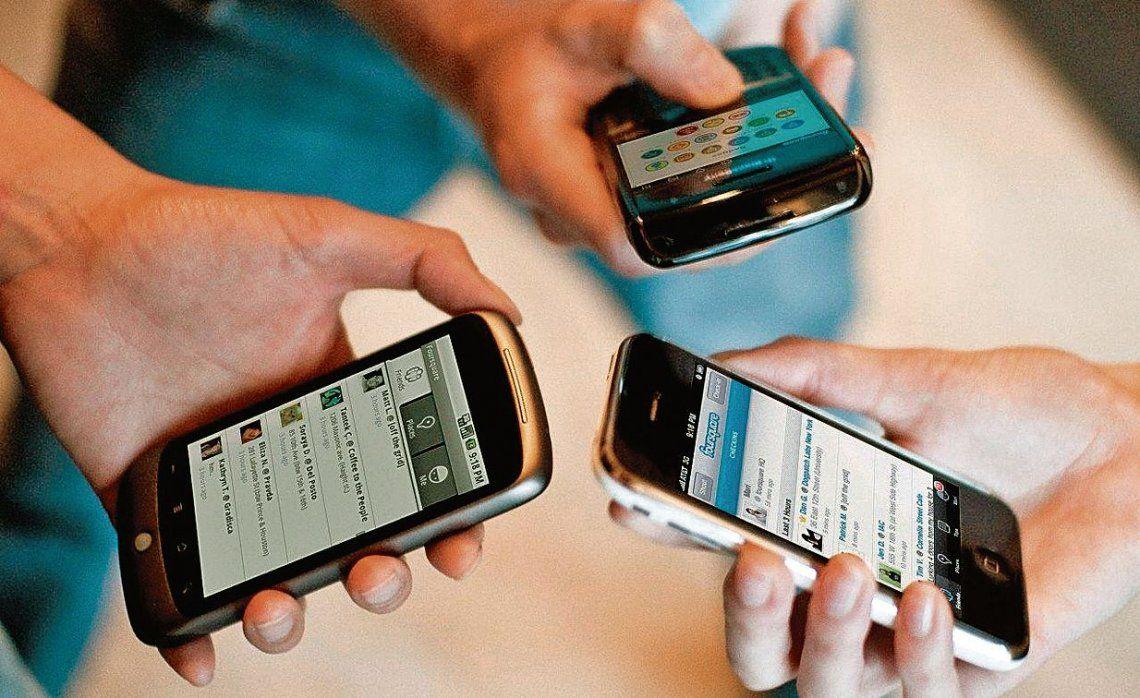dLa telefonía celular