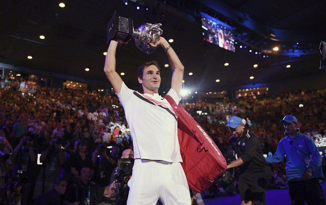 De la emoción a la euforia, las postales de la 20ª coronación de Roger Federer en un Grand Slam