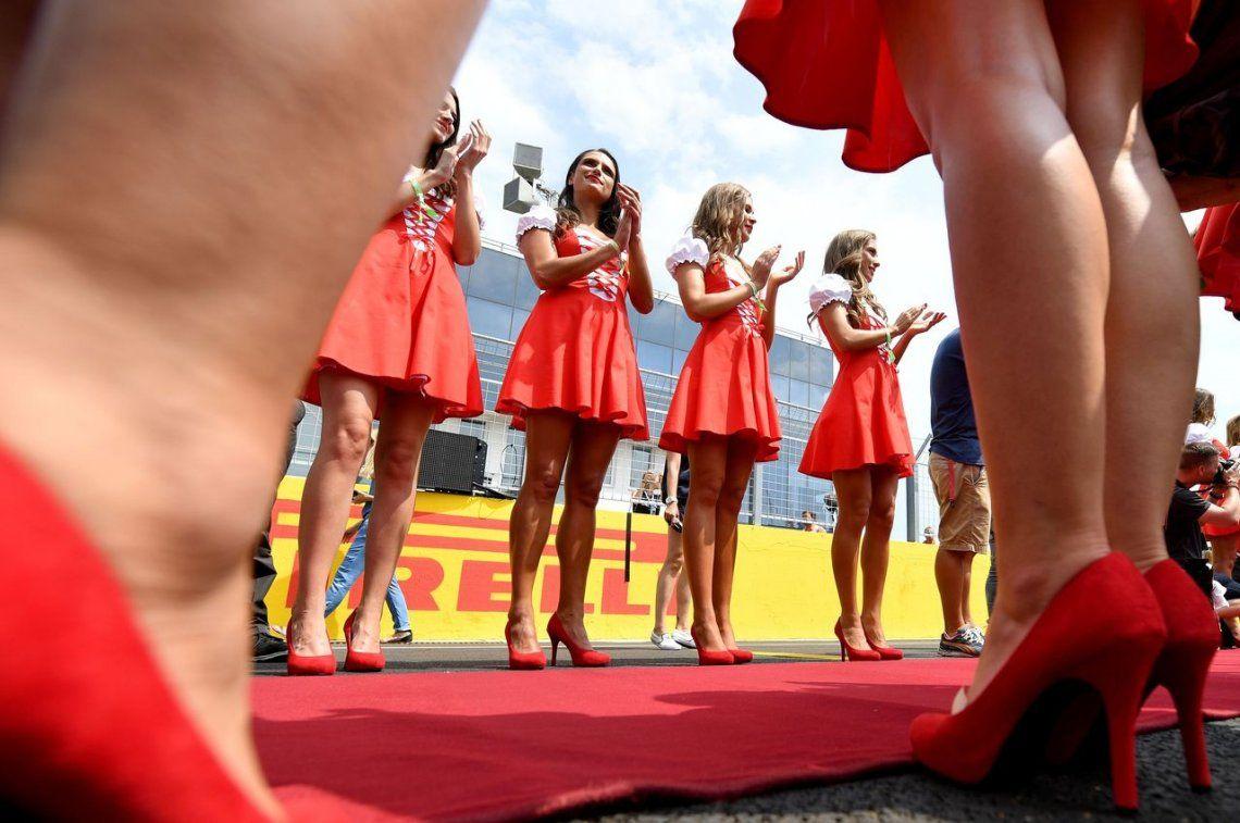 La F1 ya no tendrá mujeres sujetando sombrillas: ¿la imitará el TC?