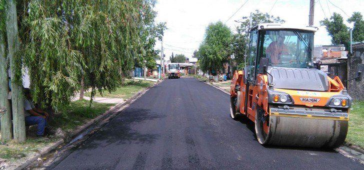 Se intensifica el plan de bacheo en San Martín