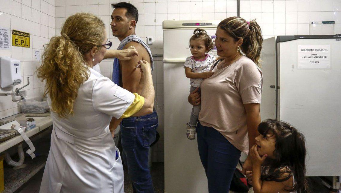 En Río, la fiebre amarilla mató a más gente en enero que en todo 2017
