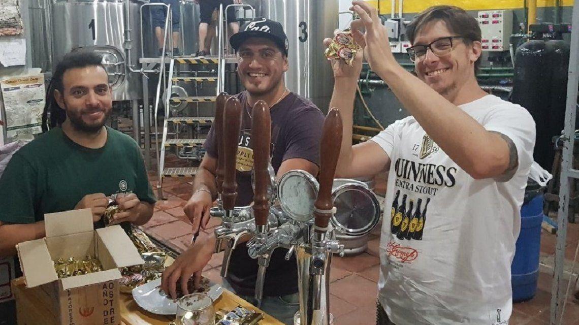 Sabor de mítico alfajor quilmeño llega a la cerveza