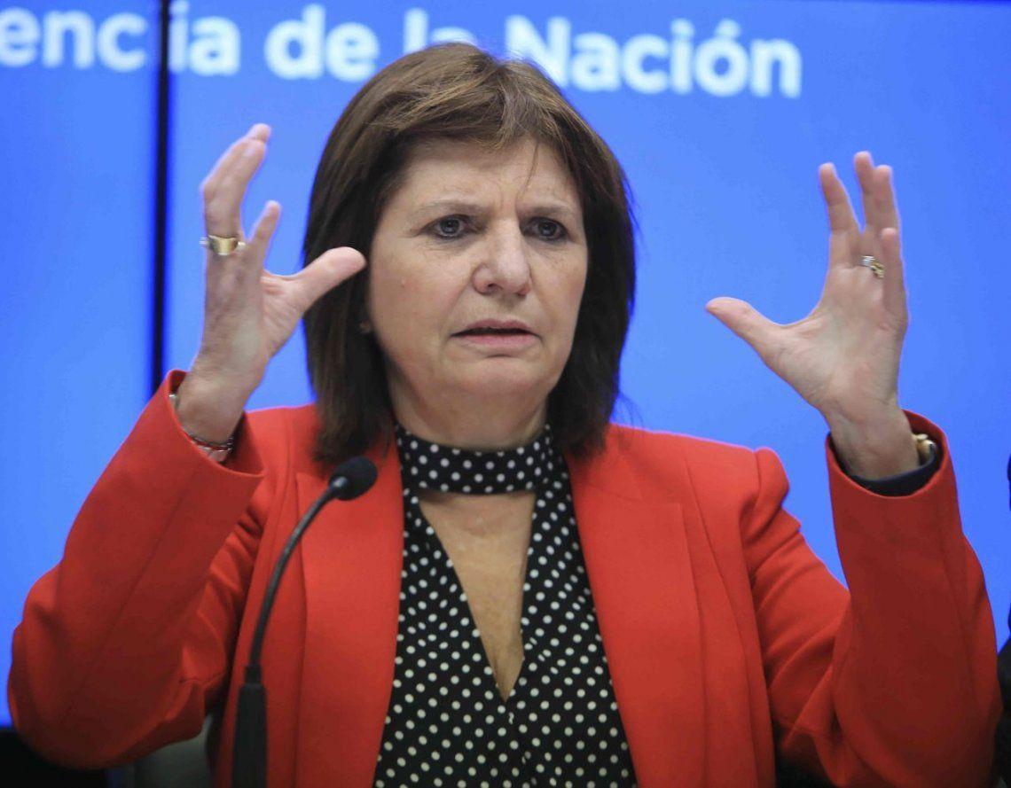 Caso de los cuadernos| Patricia Bullrich confirmó que pagarán la recompensa por Oscar Thomas
