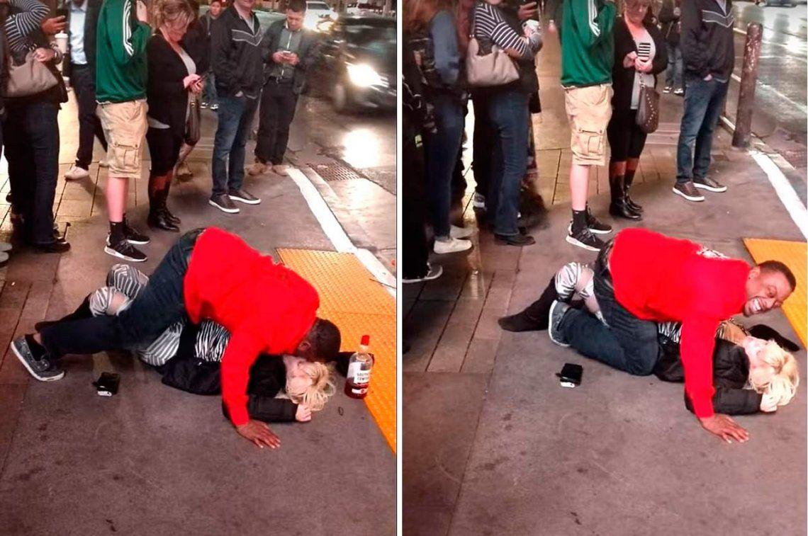 Las Vegas: abusó de una mujer ebria en la calle y nadie hizo nada