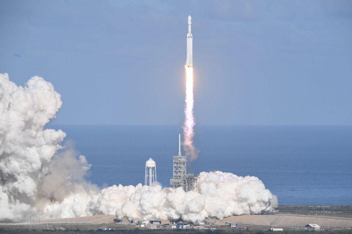 Falcon Heavy, el cohete operativo más potente del mundo