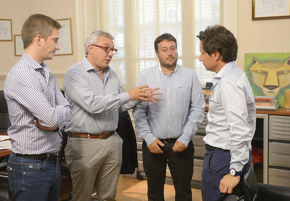 dZamora y Sánchez Zinny resaltaron el presente del distrito.