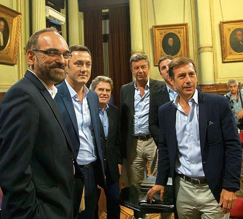 Legisladores de Cambiemos integrantes de la Bicameral de los DNU.