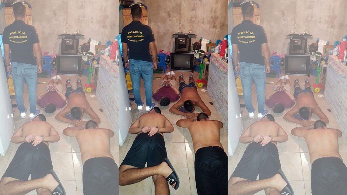 Cayó peligrosa banda de secuestradores en Quilmes