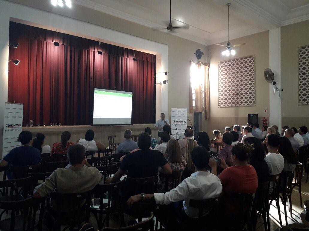 Encuentro de concejales de Cambiemos en Lanús