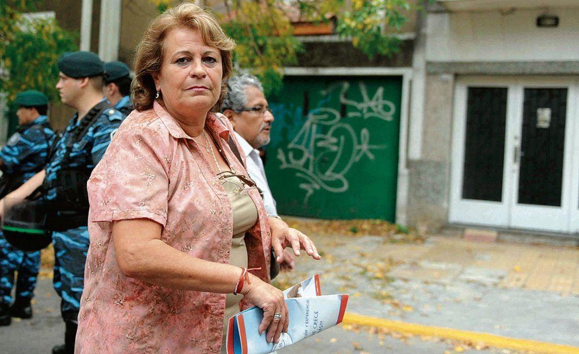 La presidenta de la Federación de Educadores Bonaerenses (FEB)