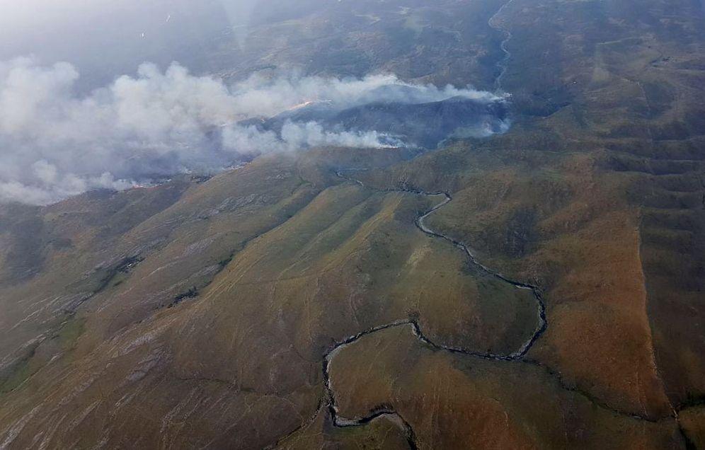 Córdoba: el fuego avanza y se detectaron nuevos focos