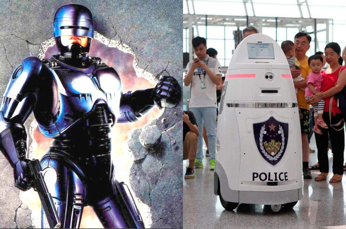 ¿Te acordás de Robocop? ¡Volvió y trabaja en China!