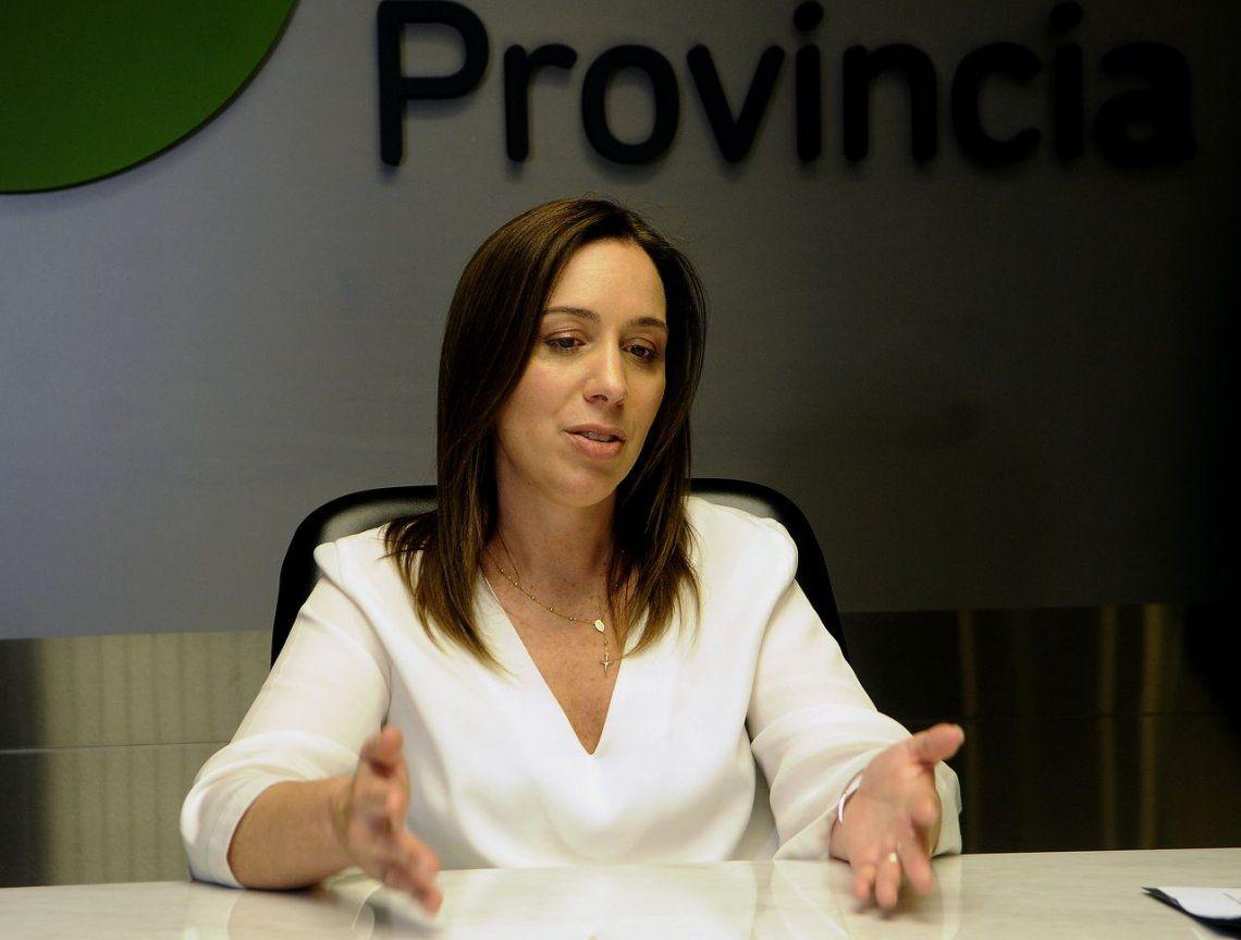 María Eugenia Vidal convocó a los docentes a una reunión paritaria para el jueves próximo