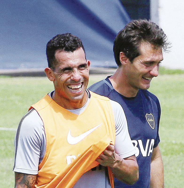 Tevez está bien y Boca repite el equipo que le ganó a Colón
