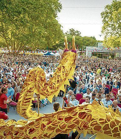 Celebran el Año Nuevo Chino  n Belgrano