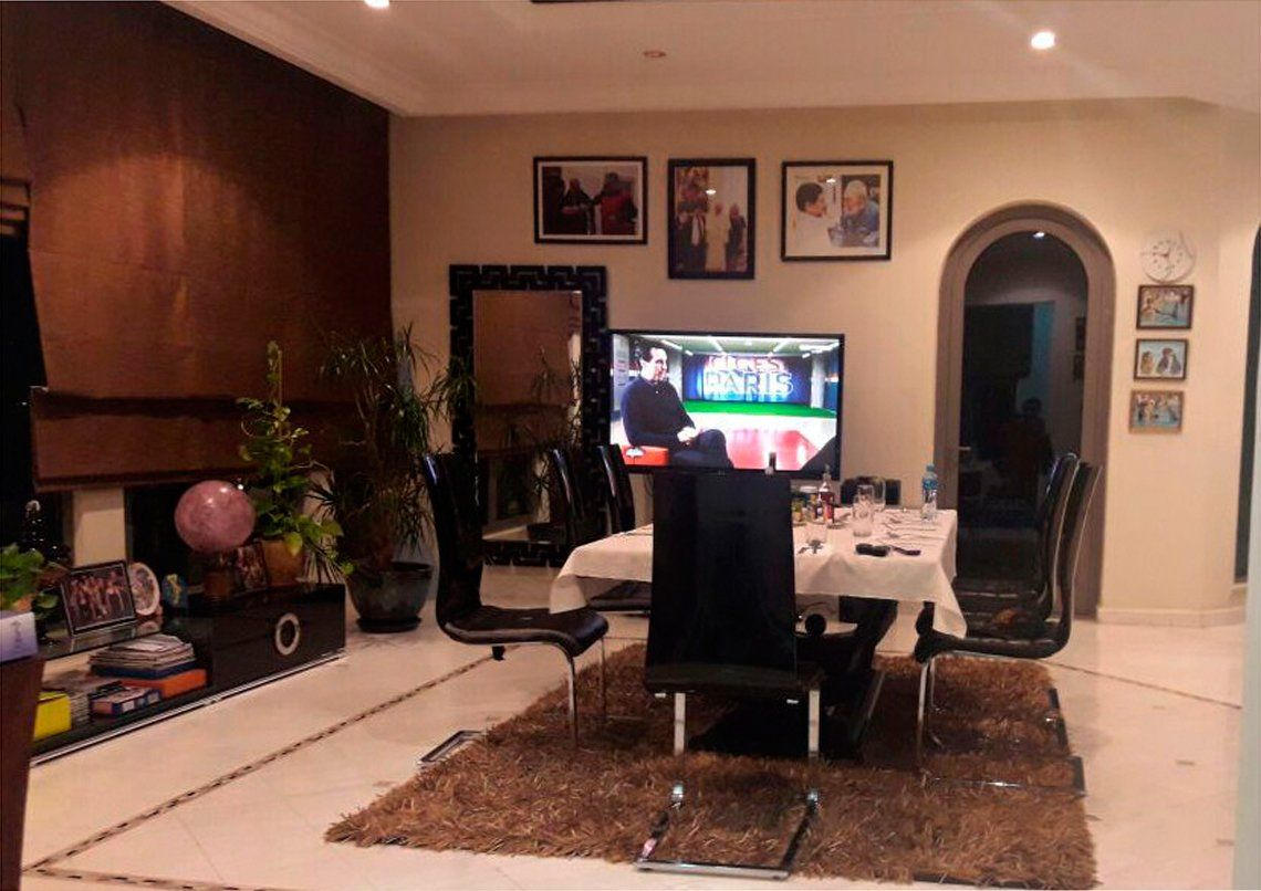 El Popu con Diego en Dubai: La intimidad de Maradona y su casa con salida al mar