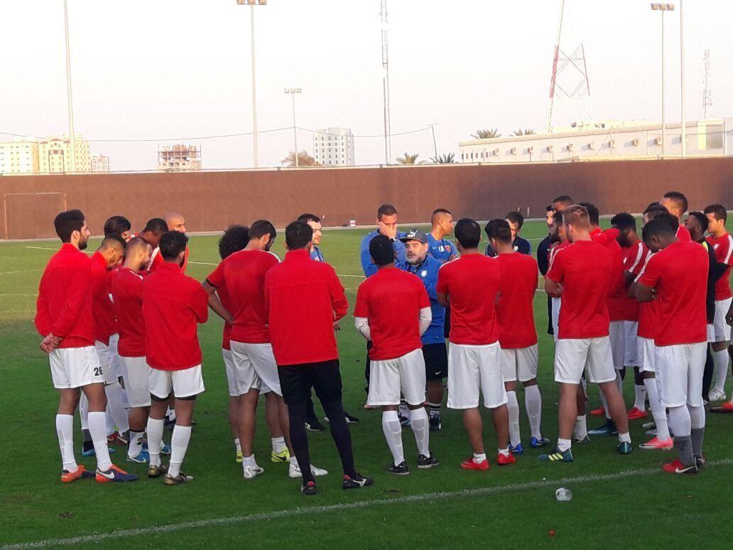 El Popu en Dubai: cómo es una práctica con Diego en Al Fujairah
