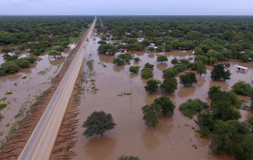 El río Pilcomayo sigue ensañado con Salta