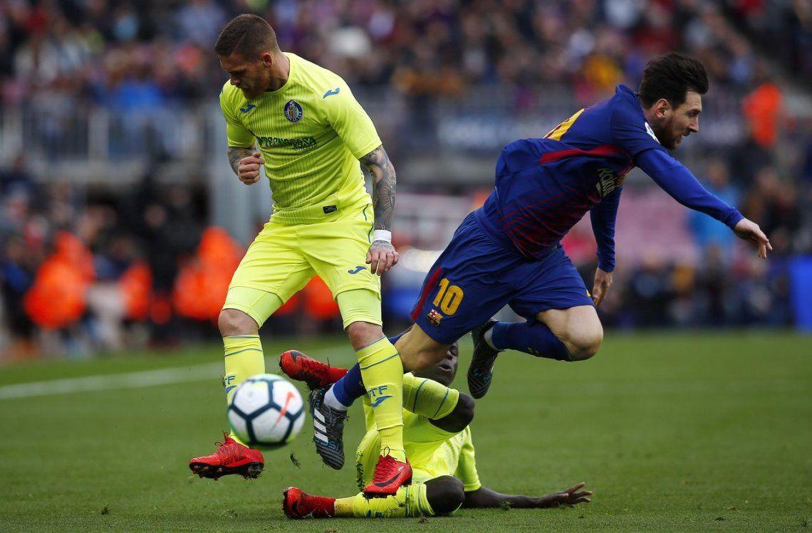 Barcelona no pudo con el Getafe y volvió a ceder puntos en la Liga