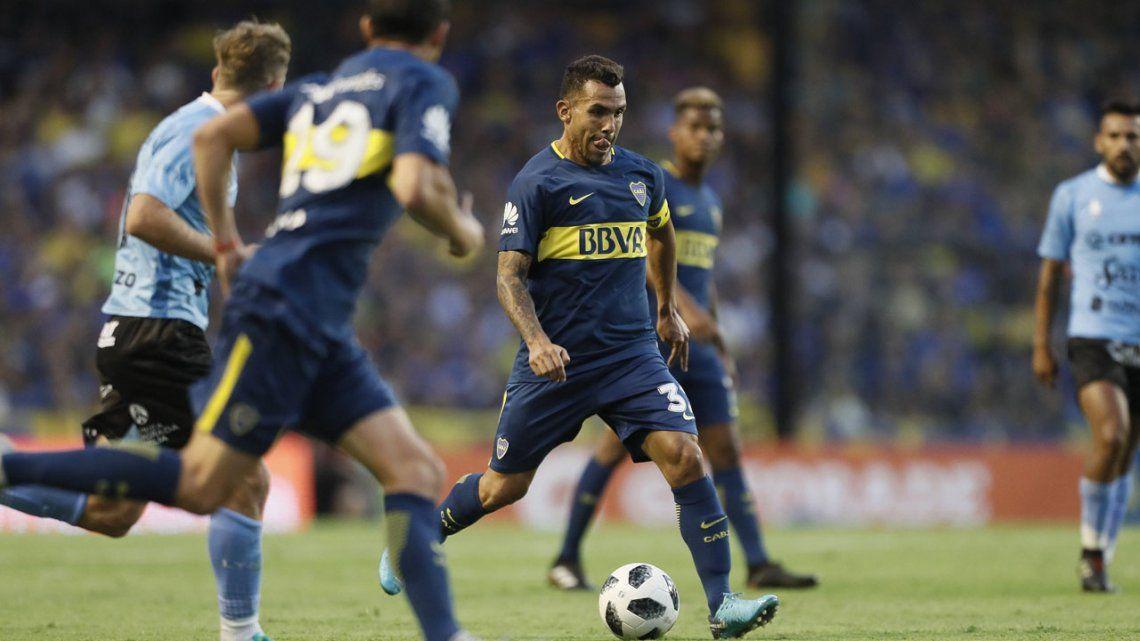 El partido de Tevez: lejos de un nivel de Selección