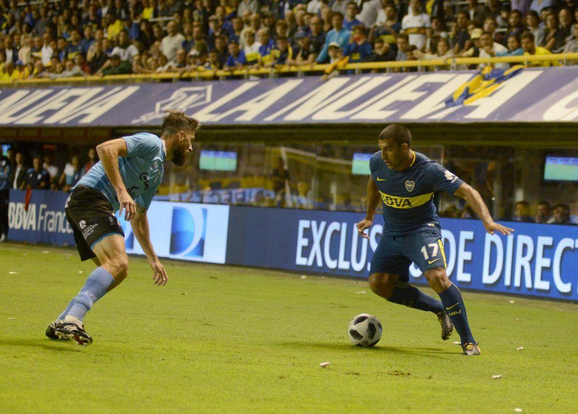 Con lo justo, Boca derrotó a Temperley 1 a 0 y se mantiene lejos en la punta