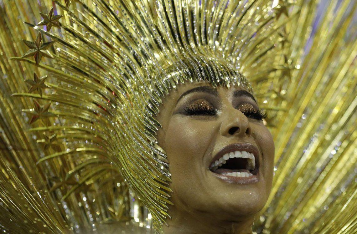 Todo el color del carnaval de Río de Janeiro