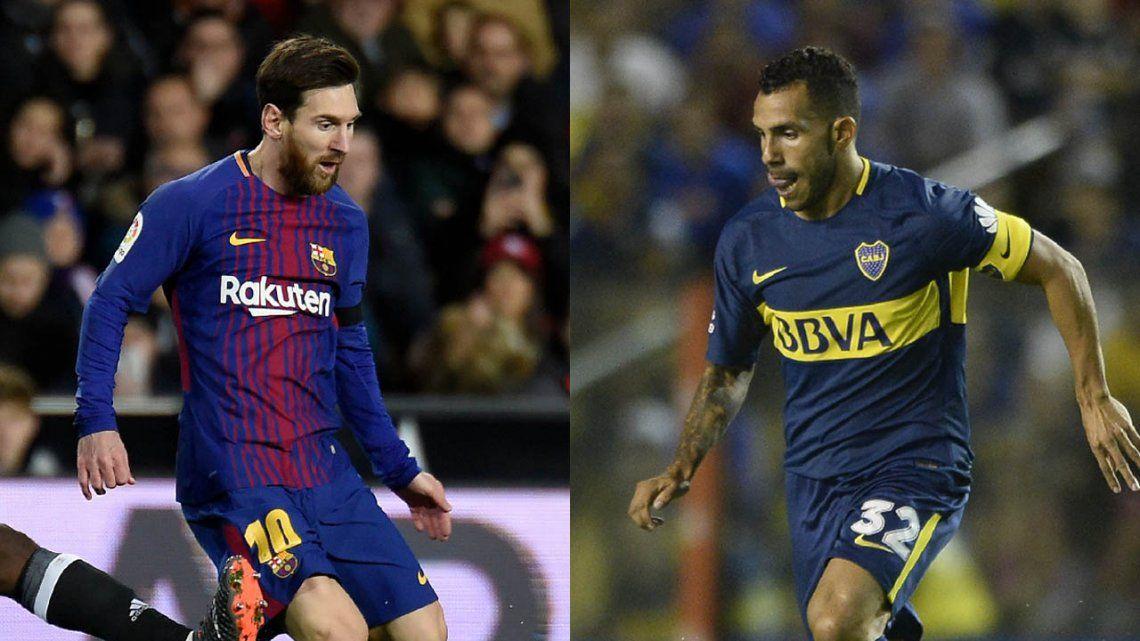 Copa Joan Gamper: Tevez y Messi, otra vez frente a frente