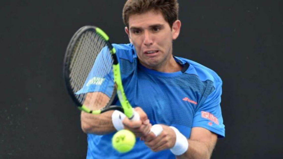 Delbonis puso primera y ganó en el arranque del Argentina Open