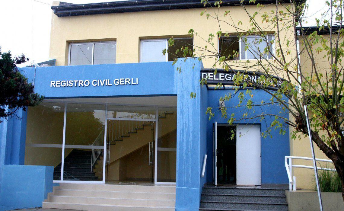 Cierran los registros civiles de Gerli y Wilde