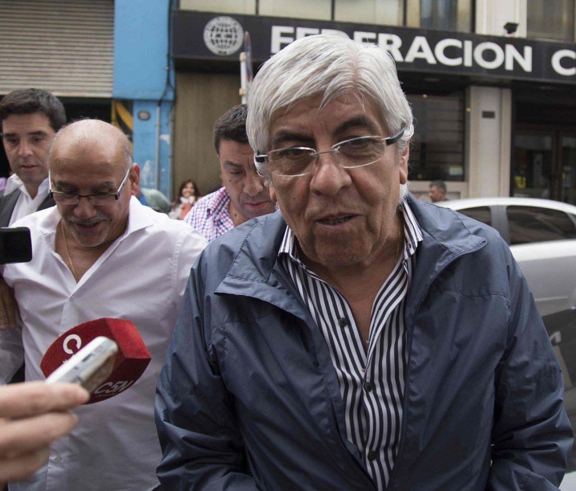 La Justicia ordenó levantar el secreto bancario de Hugo Moyano, su esposa y sus hijos