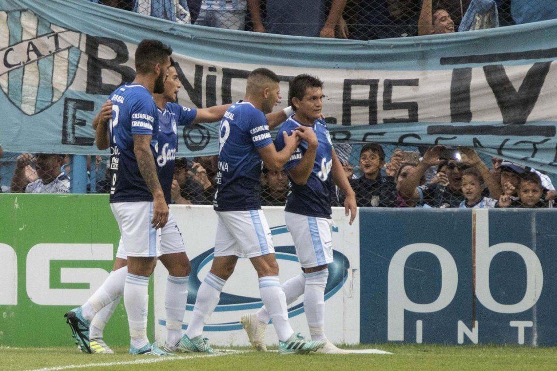 En el final, Atlético venció a San Martín y sumó tres puntos clave