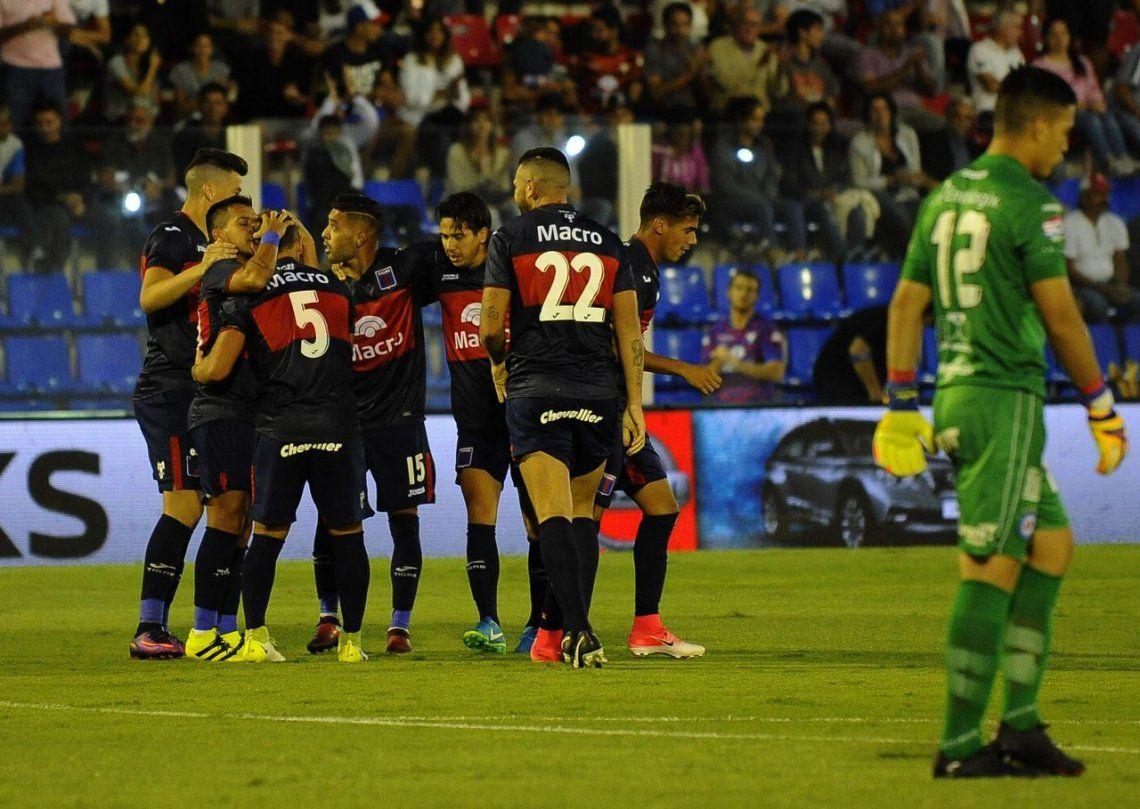 Tigre cortó la mala racha con un triunfo ante Argentinos