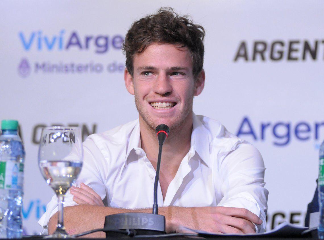 Debuta el Peque Schwartzman, la estrella argentina