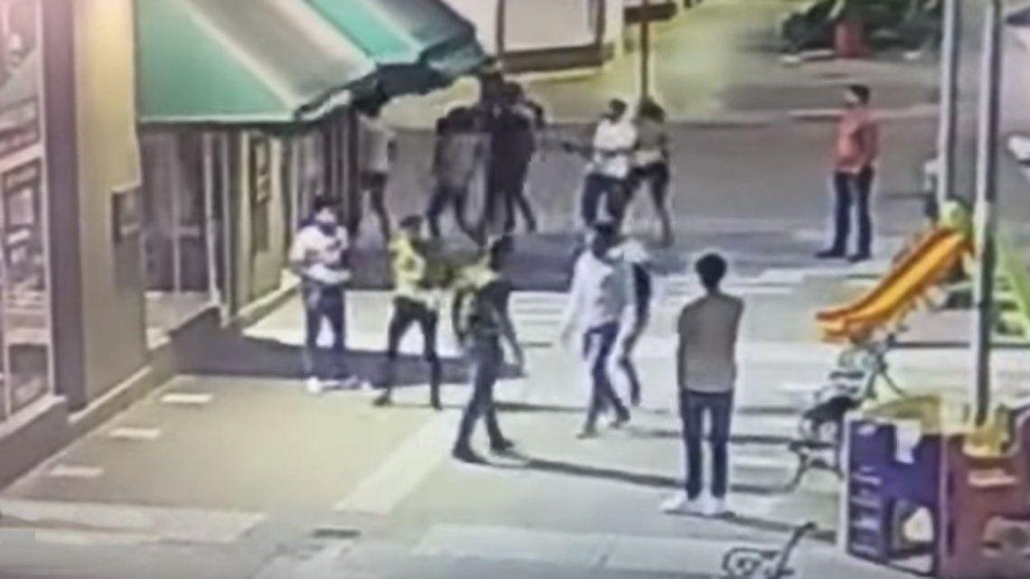 Video | Joven quedó internado tras el ataque de un grupo de rugbiers