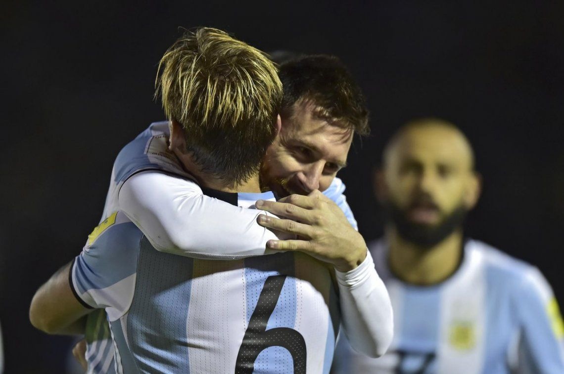 Lucas Biglia: Sin Messi somos un equipo normal