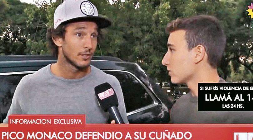 dPico Mónaco habla bien de su cuñado y se sorprende con la denuncia.