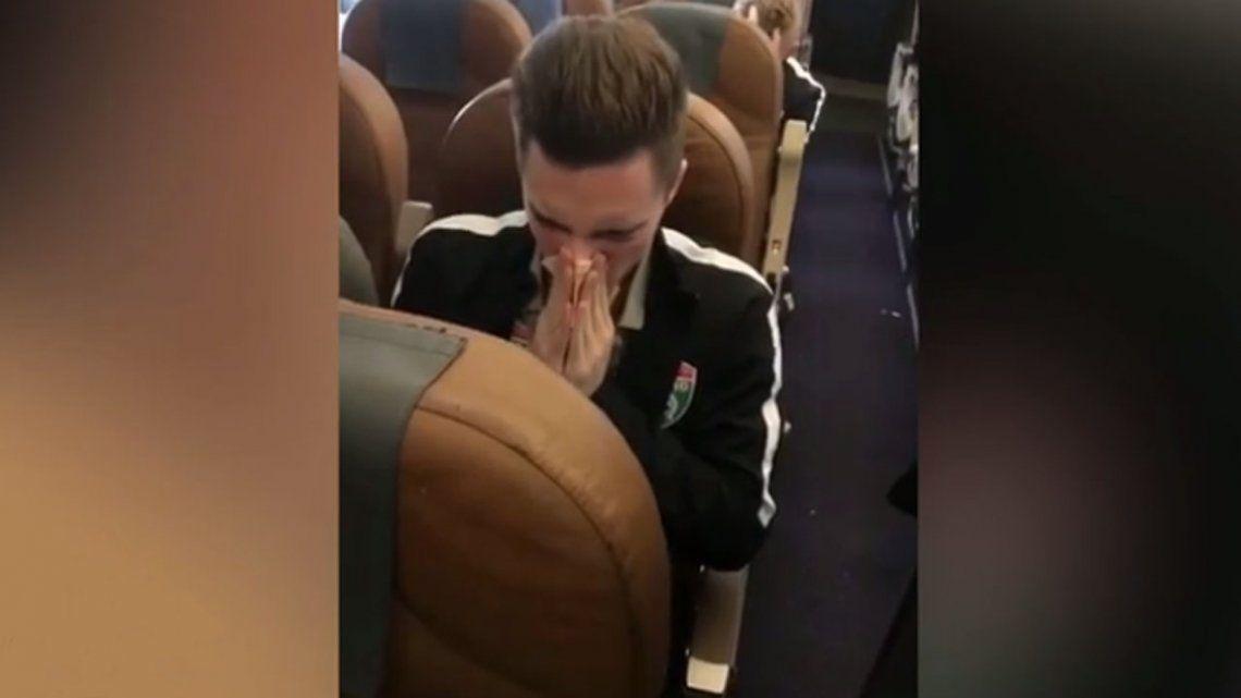 El tonto del año: futbolista ruso se limpió la nariz con 5 mil rublos