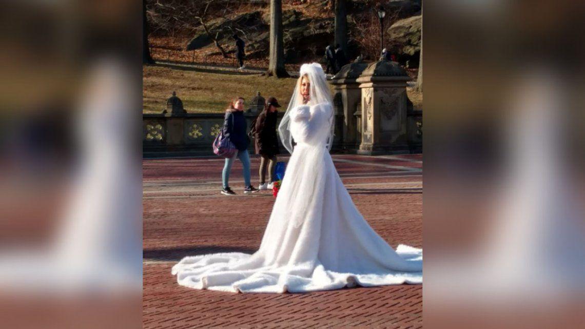 Vicky Xipolitakis se casó en secreto con un financista de 52 años