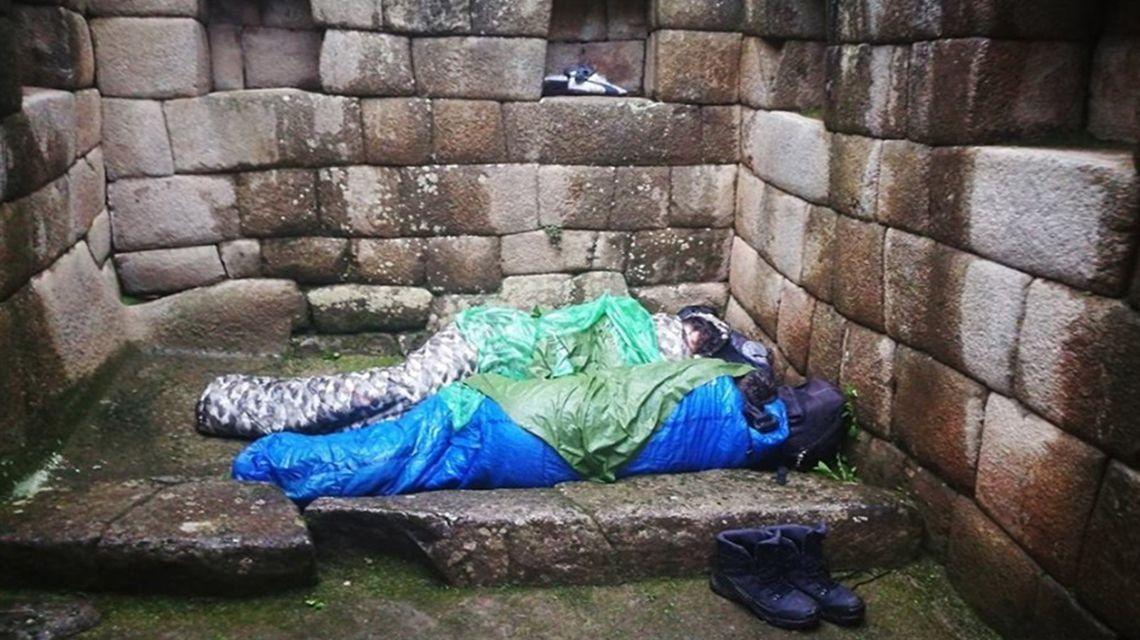 Dos turistas argentinos fueron expulsados de Machu Picchu