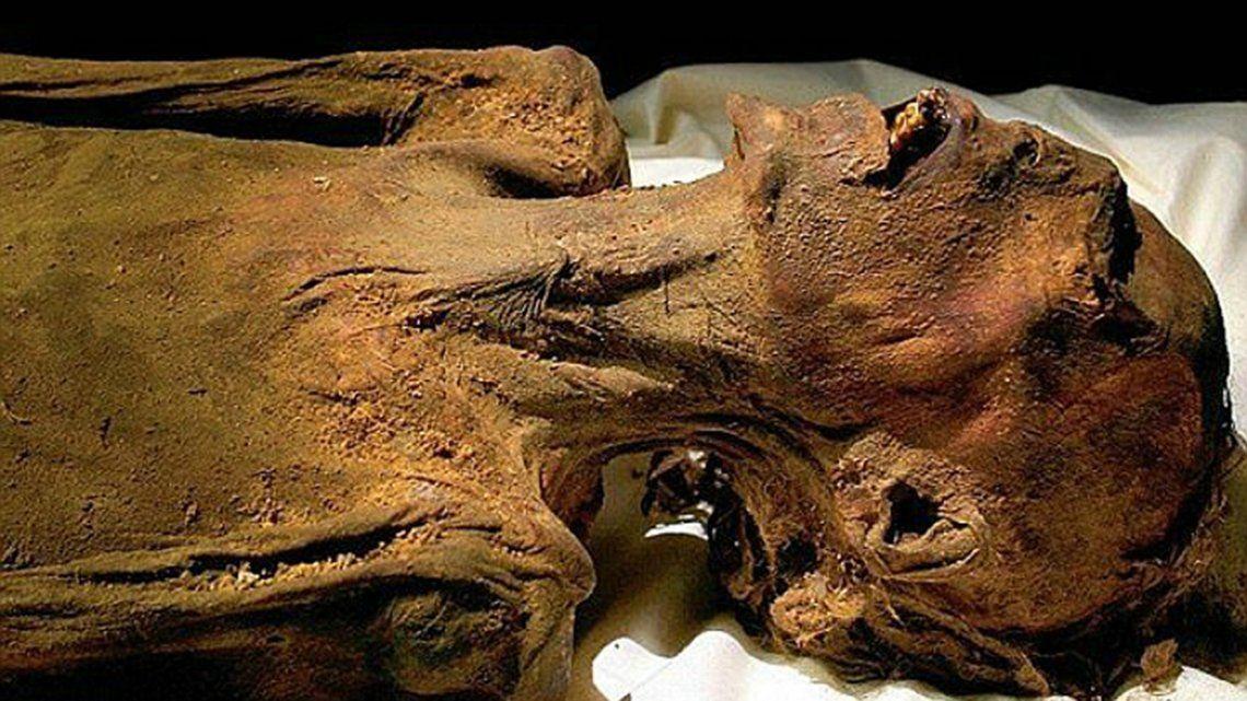Se reveló el misterio detrás de la momia que grita