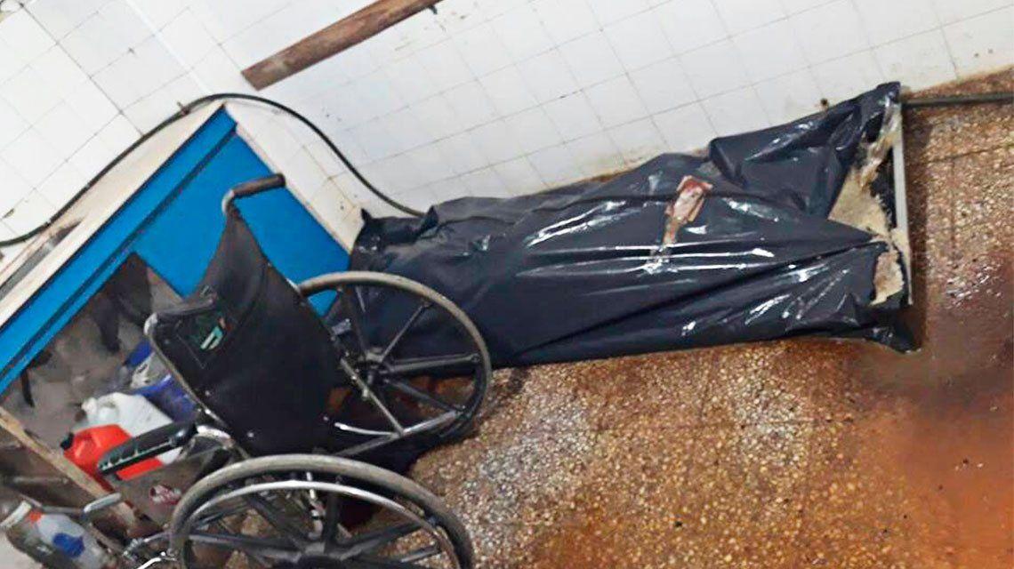 Denuncian que la morgue de Ezpeleta entrega cuerpos podridos y agusanados